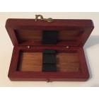 Wooden Oboe Reed Case (2 reeds)
