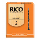 Rico Bb Clarinet Reeds - 10 pack