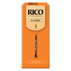 Rico Bb Clarinet Reeds - 25 pack