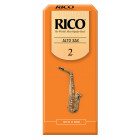 Rico Alto Saxophone Reeds - 25 pack