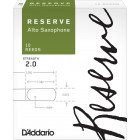 Rico Reserve Alto Saxophone Reeds - 10 pack
