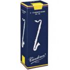Vandoren Traditional Bass Clarinet Reeds (Blue Box) 5 Pack
