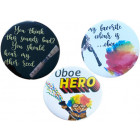 Oboe Themed Badges